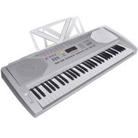 Elektronické klávesy se stojánkem na noty - 61 kláves