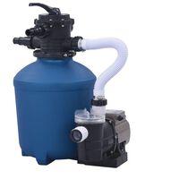 vidaXL Pískové filtrační čerpadlo s časovačem 530 W 10 980 l/h