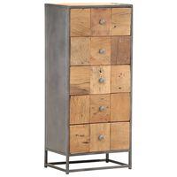 vidaXL Komoda se zásuvkami 45 x 30 x 100 cm masivní recyklované dřevo