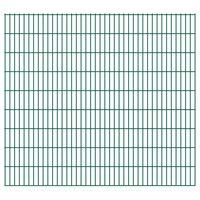 vidaXL 2D Zahradní plotové dílce 2,008 x 1,83 m 18 m (celková délka)