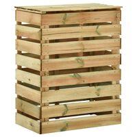 vidaXL Laťkový zahradní kompostér 80x50x100 cm impregnované borovice