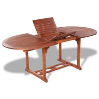 vidaXL Zahradní stůl 200 x 100 x 74 cm masivní akáciové dřevo