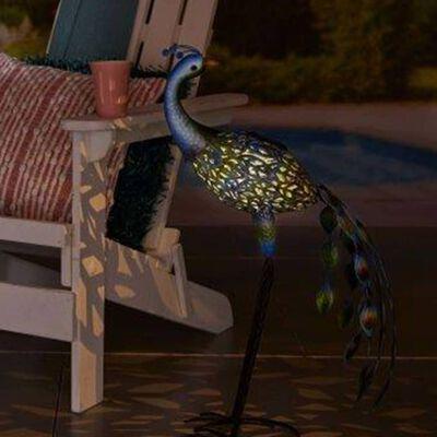 Luxform Zahradní solární LED svítidlo Peacock