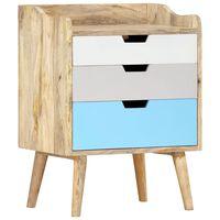 vidaXL Noční stolek 47 x 35 x 63 cm masivní mangovníkové dřevo