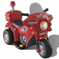 Dětská motorka na baterie (červená)