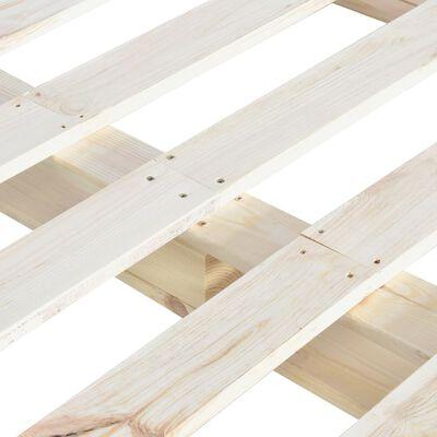 vidaXL Rám postele z palet masivní borovice 140 x 200 cm