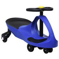 vidaXL Dětské vozítko a odrážedlo SwingCar s klaksonem modré