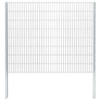 vidaXL 2D gabion plot pozinkovaná ocel 2,008x1,63m 16m (celková délka)