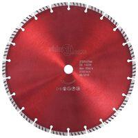 vidaXL Diamantový řezací kotouč turbo ocel 300 mm