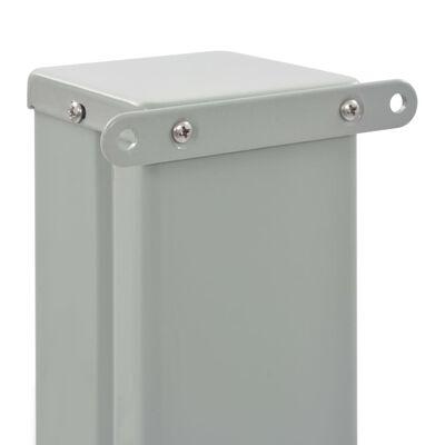 vidaXL Zatahovací boční markýza / zástěna na terasu 160 x 300 cm hnědá