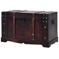 vidaXL Vintage dřevěná truhla 66 x 38 x 40 cm