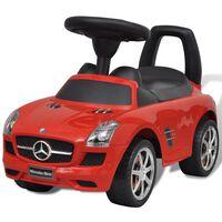 Mercedes Benz dětské auto / odrážedlo červené