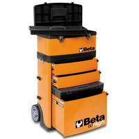 "Beta Tools Box na nářadí na kolečkách ""C41H/O"" oranžový 041000002"