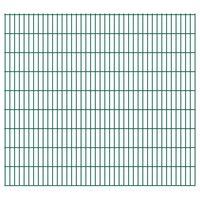vidaXL 2D Zahradní plotové dílce 2,008 x 1,83 m 46 m (celková délka)