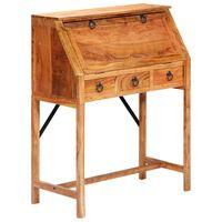 vidaXL Psací stůl 90 x 40 x 107 cm masivní akáciové dřevo