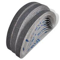 Brusné pásy na pneumatickou brusku 30 ks: 10x zrnitost 60, 10x zrnitost 80, 10x zrnitost 120