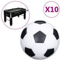 vidaXL Míčky pro stolní fotbal 10 ks 32 mm ABS