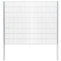 vidaXL 2D gabion plot pozinkovaná ocel 2,008x1,63m 20m (celková délka)