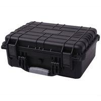 vidaXL Ochranný kufřík na vybavení 40,6x33x17,4 cm černý