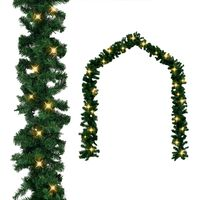 vidaXL Vánoční girlanda s LED světýlky 20 m