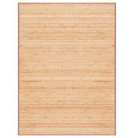 vidaXL Bambusový koberec 160 x 230 cm hnědý