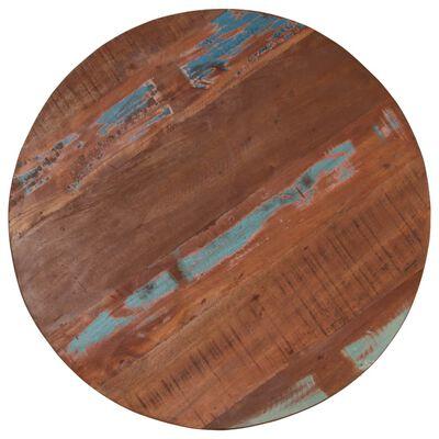 vidaXL Barový stůl masivní recyklované dřevo 60 x (76–110) cm