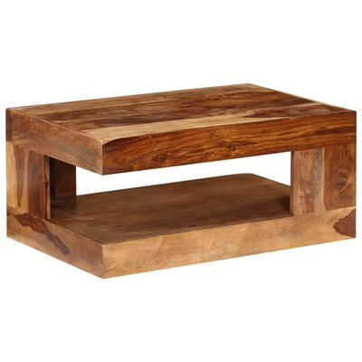 Konferenční stolek z masivního sheeshamového dřeva