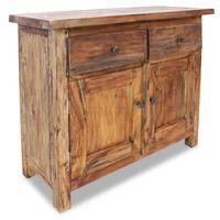 vidaXL Příborník masivní recyklované dřevo 75 x 30 x 65 cm