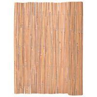 vidaXL Bambusový plot 125 x 400 cm