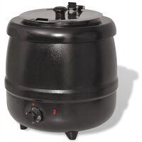 vidaXL Elektrický kotlík na polévku 10 L