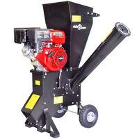 vidaXL Benzinový drtič větví s motorem 15 HP