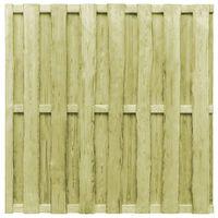 vidaXL Protipohledový plotový dílec borovice 180 x 180 cm zelený