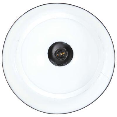 vidaXL Industriální závěsné svítidlo 32 cm černé E27