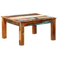 vidaXL Konferenční stolek čtvercový recyklované dřevo