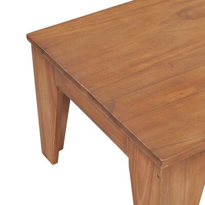 vidaXL Konferenční stolek 120 x 60 x 40 cm masivní teakové dřevo