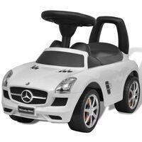 Mercedes Benz dětské auto / odrážedlo bílé