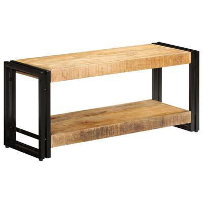 vidaXL TV stolek 90 x 30 x 40 cm masivní mangovníkové dřevo