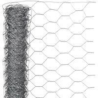 Nature Plotové pletivo šestiúhelníkové 0,5x5 m 25 mm pozinkovaná ocel