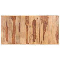 vidaXL Stolní deska masivní sheeshamové dřevo 16 mm 160 x 80 cm