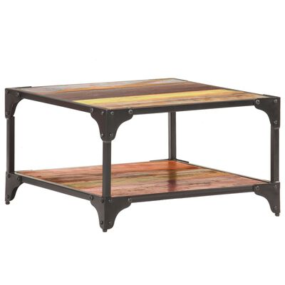 vidaXL Konferenční stolek 60 x 60 x 35 cm masivní recyklované dřevo