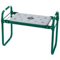 Draper Tools Skládací zahradní stolička / klekátko železo zelená 64970