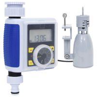 vidaXL Digitální zavlažovací hodiny s 1 výstupem a dešťovým senzorem