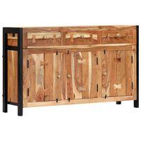 vidaXL Příborník 120 x 35 x 75 cm masivní akáciové dřevo