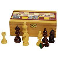 Abbey Game Šachové figurky 87 mm černé/bíle 49CL