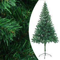 vidaXL Umělý vánoční stromek se stojanem 180 cm 564 větviček