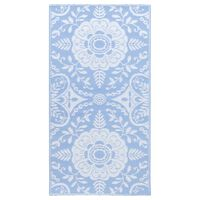 vidaXL Venkovní koberec bledě modrý 160 x 230 cm PP