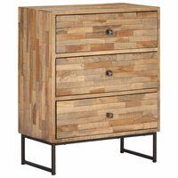 vidaXL Příborník z recyklovaného teakového dřeva 60 x 30 x 75 cm