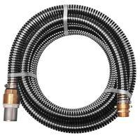 vidaXL Sací hadice s mosaznými konektory 4 m 25 mm černá