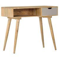 vidaXL Konzolový stolek 89 x 44 x 76 cm masivní mangovníkové dřevo