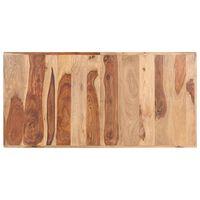 vidaXL Stolní deska masivní sheeshamové dřevo 16 mm 140 x 70 cm